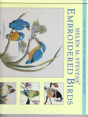 Helen M Stevens Embroidered Birds Embroidery Book
