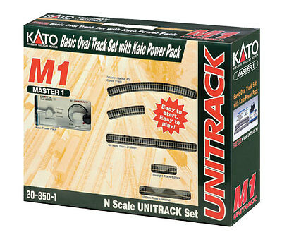 kato 20-850-1 N Scale M1 Basic Oval w/ Kato Power Pack