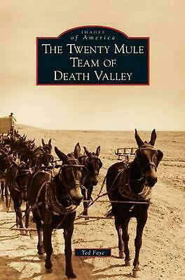Twenty Mule Team of Death Valley by Ted Faye (English) Hardcover Book Free Shipp