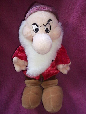 disneys grumpy of snow white and the deven dwafts soft toy