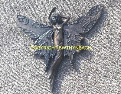New Design Rubber Latex Mould Mold Moulds Fairy Fairie Wall Plaque D