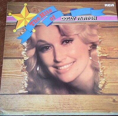 The Hits of Dolly Parton vinyl/record/LP 12""