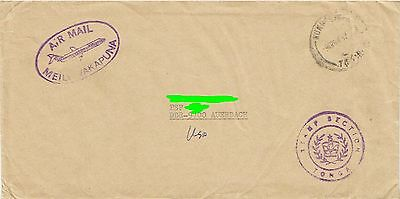 Tonga Dienstbf P.T.T. Stamp Section Nukuʻalofa - DDR Airmail 1982