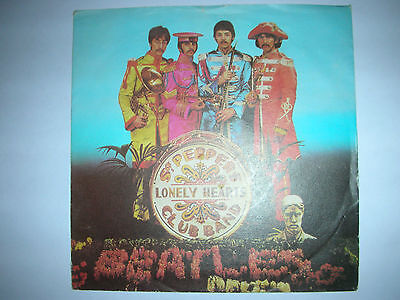 """Beatles-7""""Sgt Peppers Lonely Hearts Club Band-A Day in the Life-ITALY 1978"""