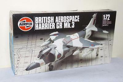 AIRFIX 02072 - BRITISH AEROSPACE HARRIER GR Mk.3  -  1:72 PLASTIC KIT - UNUSED