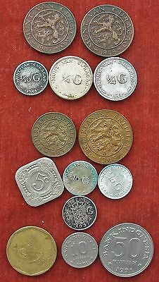 Coins . Dutch Colonies . Nederland, Holland. Curacao,neth Antilles,east Indies