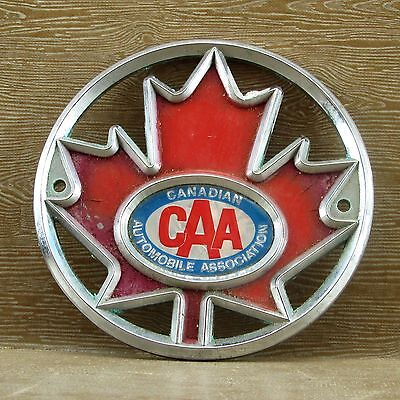 Vintage CAA Canadian Automobile Association Grille Badge / Emblem