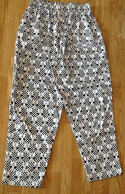 Chef Pants By Chef Revival Size Large