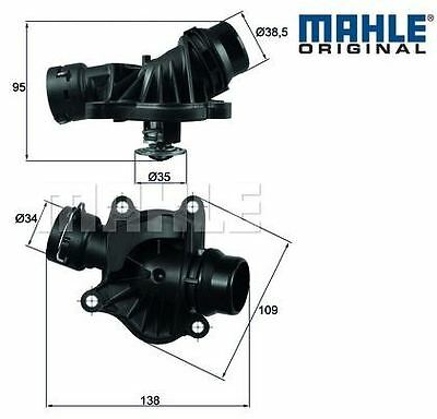 BMW E46 318d, 320d M47N engines  Thermostat with Housing MAHLE, 11517805811