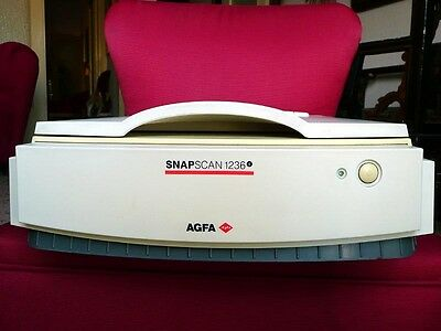 Scanner Agfa 1236 S piano 36 bit professionale 9600 dpi no duoscan arcus flatbed