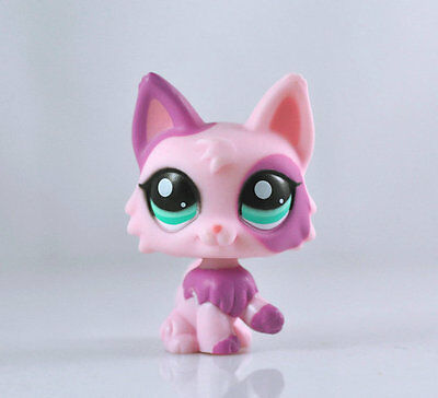 Littlest Pet Pink Wolf Dog Collection Child Girl Boy Figure Toy Loose LPS12