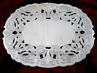 Vintage Fine Quality BIRKS Silverplate EXPANDABLE FOOTED TRIVET