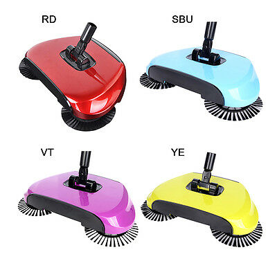 Home Magic Spin Broom Cleaning Dustpan Sweeper Floor Cleaning Tool