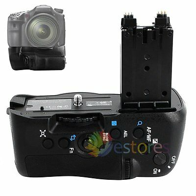 Vertical NP-FM500H Battery Grip Holder For Sony A77 A77V A77II A99II Camera【UK】
