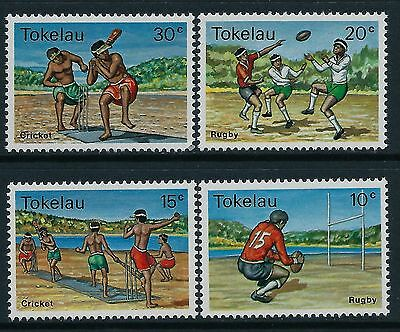 1979 Tokelau Sports Part Ii Set Of 4 Fine Mint Mnh/muh