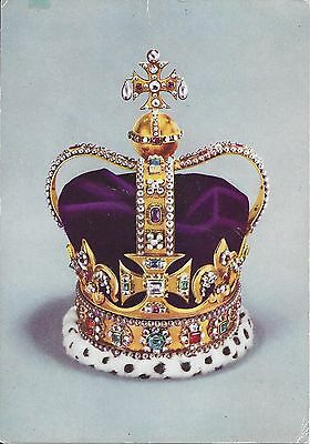St.edward's Crown - The Crown Of England - Queen Elizabeth Ii - Tower Of London