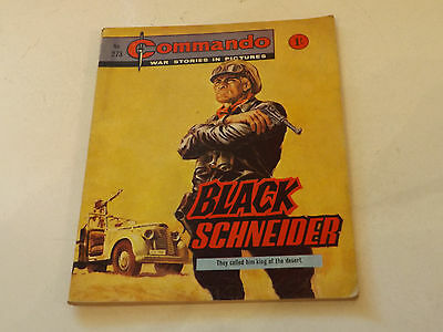 Commando War Comic Number 273,1967 Issue,v Good For Age,50 Years Old,very Rare.