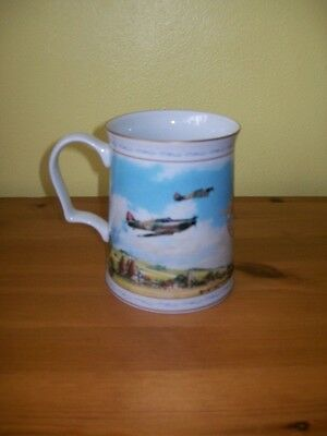 Franklin Mint 'Flying For Victory' Commemorative Tankard. Battle of Britain
