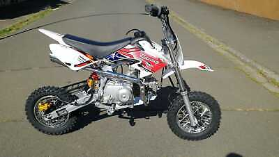 Dirt Bike 125 ccm 12/10 Räder Cross Vollcross Pocketbike Pit Enduro 125cc pocket