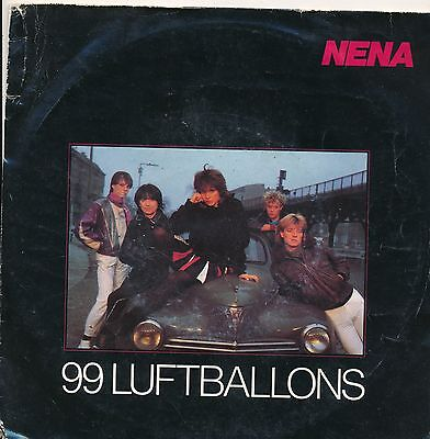 "99 Luftballons - Nena - Single 7"" Vinyl 116/01"