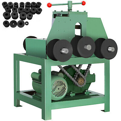 """Electric Pipe Tube Bender with 9 round and 8 square die set (5/8""""-3"""") W-G76"""