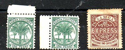 Stamps From Samoa 1877.