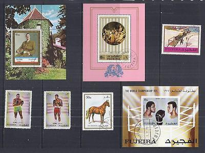 y1776 Middle East / Fujeira  / A Small Collection Early & Modern Used