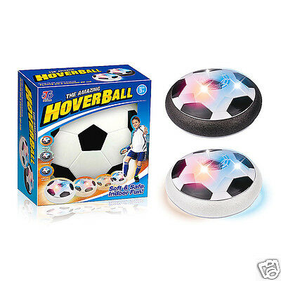 Hover Ball LED Gliding Ball Air Floating Footbal Indoor Anti-stress Toy New