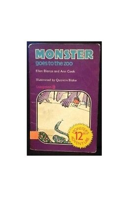 Monster Books: Monster Goes to the Zoo Bk. 12 by Cook, Ann Paperback Book