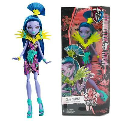 Monster High Ghouls Getaway Jane Boolittle Fashion Doll Figure Toy