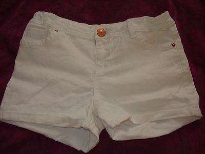 River Island Jeans SHORTS - White - Size Age 9/10 years