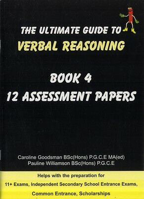 Ultimate Guide to Verbal Reasoning: 12 Assessment Papers (Paperba. 9780954418984