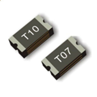10PCS 0.1A 100MA 60V SMD Resettable Fuse PPTC 1206 3.2mm×1.6mm