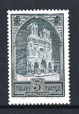 """FRANCE STAMP TIMBRE N° 259 """" CATHEDRALE REIMS 3F ARDOISE """" NEUF xx LUXE  R069"""