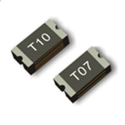 50PCS 0.1A 100MA 60V SMD Resettable Fuse PPTC 1206 3.2mm×1.6mm