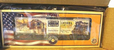 Lionel- 84673 - 2017 York Train Meet Boxcar- Only 50 Made- - 0/027- New - S1