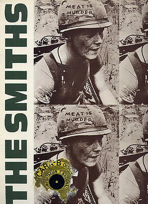 The Smiths Morrissey Spain Lp 33 Meat Is Murder  1986