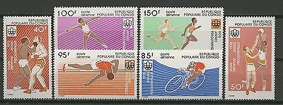 Olympiade 1976, Olympic Games - Kongo - 496-501 ** MNH
