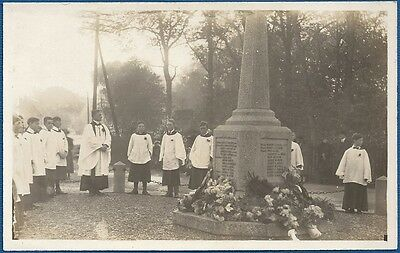 RP Postcard - Service at War Memorial, Ormesby, Great Yarmouth, Norfolk