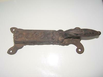 Antique Cast Iron Ornate Apothecary Cork Press