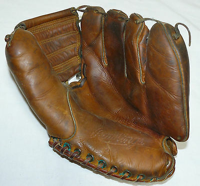 Vintage Rawlings Bobby Avila Model BA Speedtrap Baseball Glove USA NICE