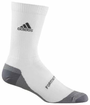 adidas Men's Formotion Professional Anatomically Shaped Tennis Socks White