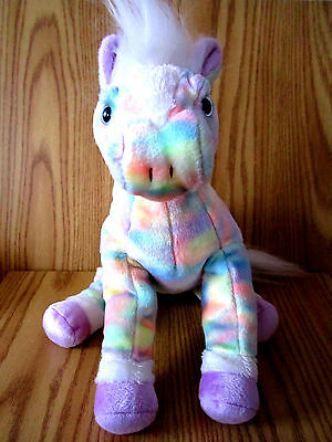 Ty Opal the Classic Rainbow Horse Plush 2003 Retired, Rare Excellent Cond.