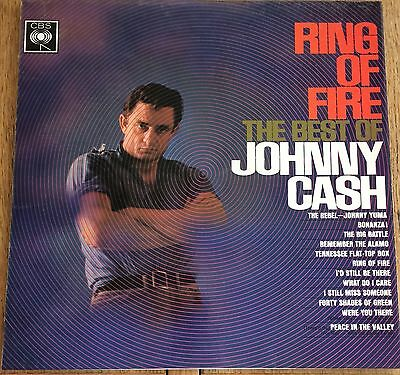 Ring Of Fire The Best Of Johnny Cash Record. (1963)