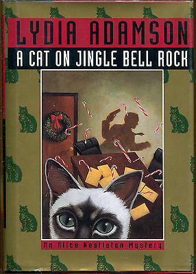 A Cat on Jingle Bell Rock by Lydia Adamson-1st Ed./DJ-Review Copy-1997