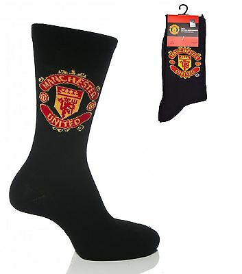 5 Pack Manchester United Childrens Socks Size 12.5-3.5 (Age 7-10) Kids