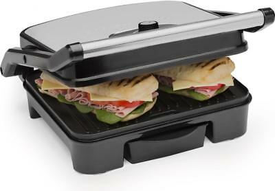 Andrew James Panini Press Toasted Sandwich Maker Health Grill Griddle