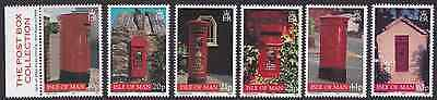 Isle Of Man Stamps Local Post Boxes 1999 Mnh