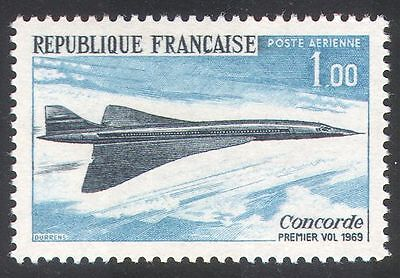 France 1969 Plane/Aircraft/Concorde/Aviation 1v n23250