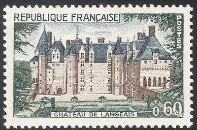 France 1968 Chateau/Buildings/Architecture/Tourism/Heritage 1v (n43302)